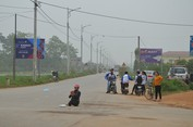 Xe khách đâm chết 7 người ở Vĩnh Phúc