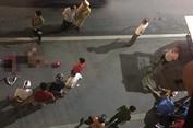 Xe mercedes tông chết 2 phụ nữ ở hầm Kim Liên