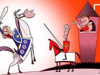 """Chế - Vui - Độc: Sao Arsenal chán nản với """"Running man"""""""