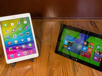 iPad Air bị 'dìm hàng trong clip mới của Microsoft