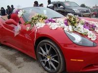 Đám cưới chất đầy siêu xe, vàng khối của thiếu gia Trung Quốc