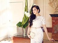 Lý Nhã Kỳ tự tin trước các giám đốc thương hiệu thời trang Paris
