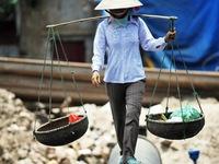 Đại lộ Thăng Long: ùn tắc cục bộ vì…mưa