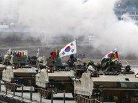 """Toàn cảnh nơi """"trú ẩn"""" của các chiến đấu cơ Triều Tiên"""