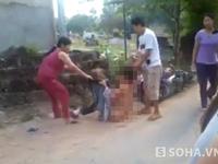 Bắt khẩn cấp kẻ lột trần, đánh ghen một phụ nữ ngay giữa đường