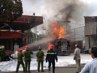 Chân dung lính cứu hỏa đứt ruột vì dập lửa