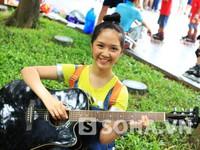 'Hot girl' Chibi Hoàng Yến được 21,5 điểm thi đại học