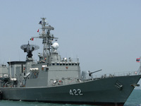 Chiến hạm Trung Quốc bị 'loại' ngay vòng đầu ở Thái Lan