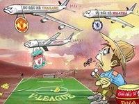 Chế - Vui - Độc: Rooney giờ bị ghẻ lạnh rồi!