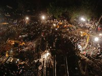 Sập tòa nhà 8 tầng ở Bangladesh, 25 người chết