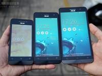 Bộ 3 smartphone Asus ZenFone giá rẻ tại Việt Nam
