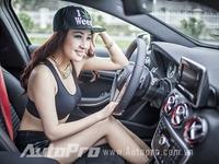 DJ Miu Miu khoe body hot hơn  &quote;Mẹc A250 AMG