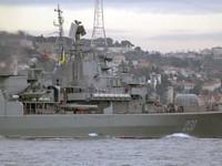 Nga: Soái hạm Ukraine mang thiết bị tình báo của NATO