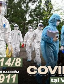 Dịch Covid-19 ngày 14/8: Việt Nam thêm 6 ca bệnh, 1 người tử vong; Từ 0h hôm nay, TP Hải Dương thực hiện cách ly xã hội