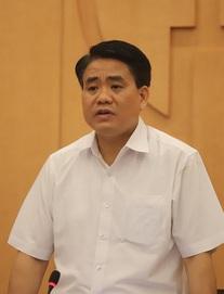 Chủ tịch Nguyễn Đức Chung: Hà Nội cần nâng thêm 1 mức cảnh báo nguy cơ lây nhiễm Covid-19