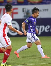 TRỰC TIẾP Viettel 0-0 Hà Nội: Trọng Đại có hành vi phản cảm với Văn Quyết