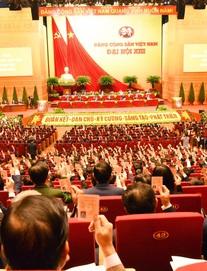 Hình ảnh phiên trù bị Đại hội đại biểu toàn quốc lần thứ XIII của Đảng