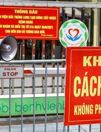 Bệnh viện Thanh Nhàn đã ghi nhận 38 ca Covid-19. Vì sao Hà Nội chưa cho xe ôm, xe ôm công nghệ hoạt động?