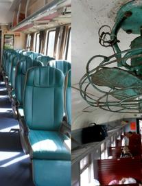 [ẢNH] Hình ảnh đối lập của các toa tàu đường sắt Việt Nam đang sử dụng - có cả hạng sang đến hạng cũ khó tin
