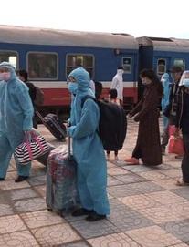 Xúc động đón hơn 800 công dân từ TP.HCM hồi hương về Hà Tĩnh