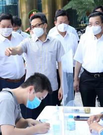 Phó Thủ tướng Vũ Đức Đam: Hà Nội phải sẵn sàng mọi tình huống dịch Covid-19, không để bị động, bất ngờ