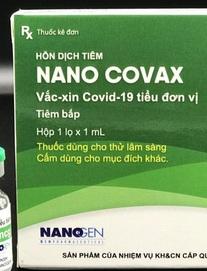 Tin mới nhất về vắc xin 'made in Vietnam' Nano Covax