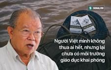 GS Võ Tòng Xuân: Những điều Đặng Lê Nguyên Vũ làm rất cao cả; giáo dục VN đang quá yếu kém!