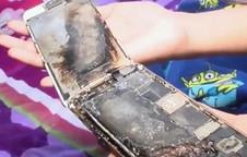 Một chiếc iPhone 6 của bé gái 11 tuổi lại bốc cháy dữ dội