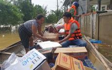 """Nam thanh niên đi xuyên đêm vào Quảng Bình cứu trợ: """"Lần đầu tận mắt chứng kiến mới thấy lũ lụt kinh khủng quá!"""""""