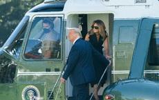 """Bức ảnh TT Mỹ Donald Trump cùng 1 phụ nữ """"lạ"""" gây tranh cãi, dân mạng soi ra điểm đáng ngờ"""