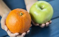 """Đặt cam - táo lên """"bàn cân"""": Vì sao """"một quả táo mỗi ngày giúp tránh xa bác sĩ"""" nhưng có chuyên gia vẫn chọn cam?"""