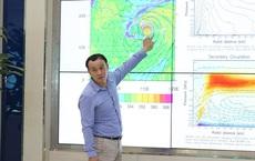 Khoảng 19h hôm nay, bão số 9 sẽ đạt cường độ cực đại ở cấp 13 - 14