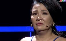 Nghệ sĩ Ngân Quỳnh bật khóc, xin lỗi chồng trên truyền hình