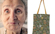 Shopping online 1 chiếc túi, người phụ nữ đứng hình vì phát hiện ra hoa văn nhạy cảm của nó