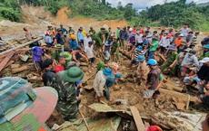 Nóng: Những hình ảnh đầu tiên từ tâm vụ sạt lở kinh hoàng Trà Leng khiến hàng chục người mất tích