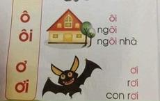 Lại hoang mang chuyện sách giáo khoa lớp 1 dạy trẻ đọc 'con dơi' thành 'con rơi' nhưng sự thật phía sau mới làm phụ huynh 'ngã ngửa'
