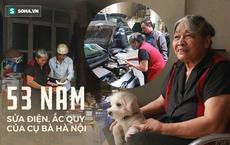"""Cụ bà 72 tuổi sửa ắc quy hơn 50 năm ở Hà Nội và lời đáp trả khi bị xì xào """"nghề này của đàn ông"""""""