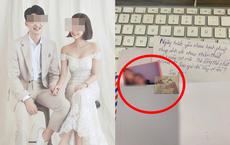 """Sau đám cưới ngồi bóc phong bì, cô dâu""""tím mặt"""" vì món đồ người yêu cũ chồng gửi đến"""