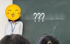 Bị gọi lên bảng kiểm tra bài cũ nhưng quên không học, nữ sinh viết 1 dòng chữ kèm theo biểu cảm khiến ai nấy ôm bụng cười