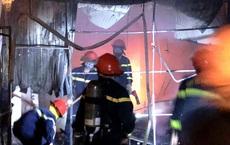 Cháy nhà 2 tầng kinh doanh quần áo, hàng mã lúc nửa đêm, cảnh sát giải cứu 4 người