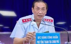 Phó Tổng Thanh tra Chính phủ đang chủ trì buổi đối thoại với người dân Thủ Thiêm