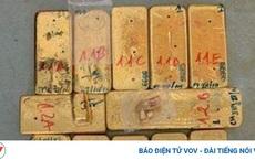 Truy nã đặc biệt nguy hiểm 5 đối tượng trong vụ vận chuyển trái phép 51kg vàng