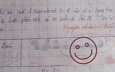 Kiểm tra được điểm cao nhưng nam sinh tức anh ách vì bị trừ 1 điểm, xem nguyên nhân ai cũng ôm bụng cười