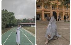 Ngồi giữa sân trường bị chụp lén, nữ sinh Hưng Yên bỗng nổi tiếng vì góc nghiêng cực phẩm