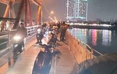 Nghi án người phụ nữ để lại xe máy, trong cốp có giấy siêu âm thai nhi rồi nhảy cầu tự tử