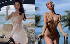 Ngọc Trinh diện bikini nóng bỏng, dân mạng lập tức so sánh với Chi Pu