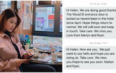 Nhà hàng tạm nghỉ vì COVID-19, 2 vị khách liên tục hỏi thăm nữ du học sinh Việt, tin nhắn cuối khiến cô bật khóc