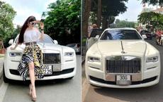 Bà chủ xinh đẹp buôn kim cương, đi Rolls-Royce tại Hà Nội là ai?