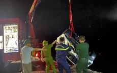 Xe ô tô lao xuống biển ở Hạ Long: Nạn nhân thứ 4 tử vong, nguyên nhân ban đầu vụ tai nạn