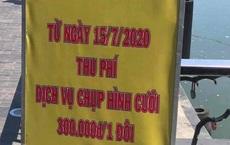 Cô dâu, chú rể phải trả tiền để chụp ảnh ở cầu tình yêu Đà Nẵng